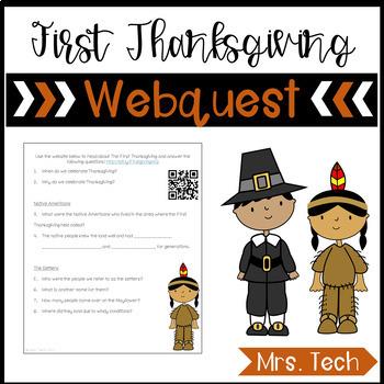 First Thanksgiving Webquest