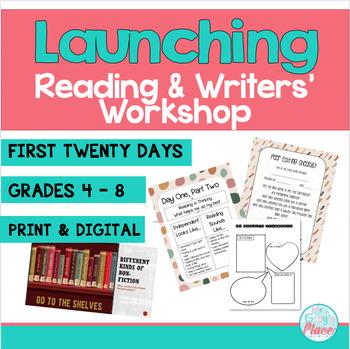 First 20 Days - Reading Workshop & Writing Workshop (Bundl