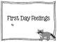 First Week Book Activities