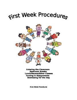 First Week Procedures