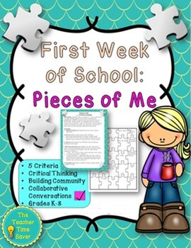 First Week of School- Community Building and Getting-to-kn
