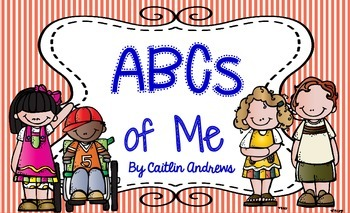 First Week of School Activity-ABCs of Me