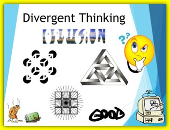 First Week of School – Divergent Thinking
