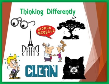 First Week of School –Thinking Differently