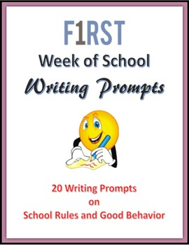 First Week of School Writing Prompts