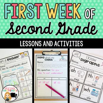 First Week of Second Grade