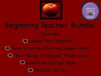 First Year Teacher Necessities: Bundle