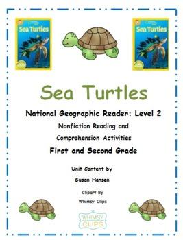 Ocean Animals: Sea Turtles National Geographic Unit Primar