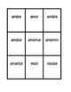 First conjugation Present passive Latin verbs Spoons game
