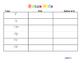 First grade journeys rainbow write unit 1