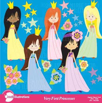 Princesses clipart, Princess Clipart, Fairy Princess Clip