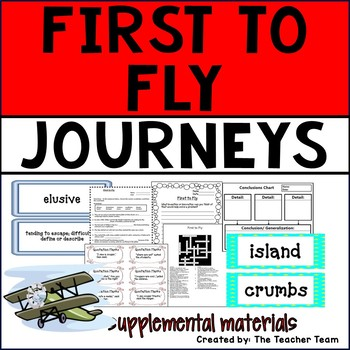 First to Fly Journeys 6th Grade Supplemental Materials