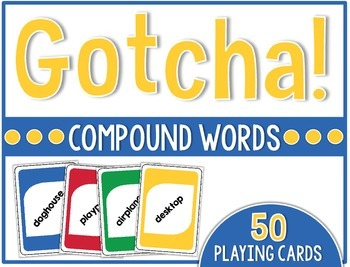 Firstie Gotcha! Compound Words