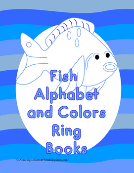 Fish Alphabet and Colors Ring Book (Common Core)
