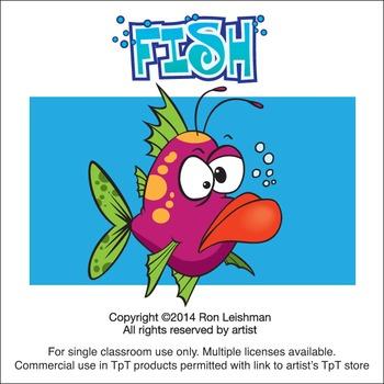 Fish Cartoon Clipart