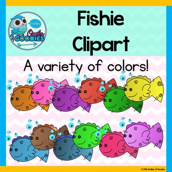 Fish Clipart - Colorful