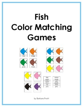 Fish Color Matching Games