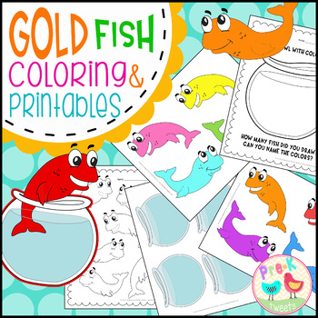 Fish Coloring and Printables