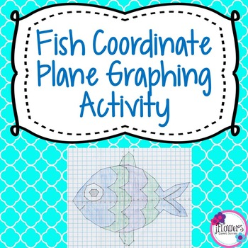 Fish Coordinate Plane Graphing Activity