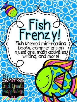 Fish Frenzy! Reading and math activities!