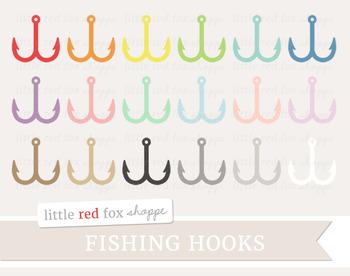 Fish Hook Clipart; Fishing