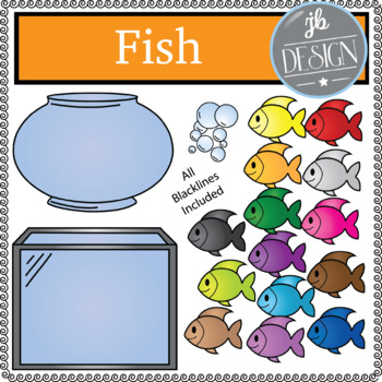 Fish (JB Design Clip Art for Personal or Commercial Use)
