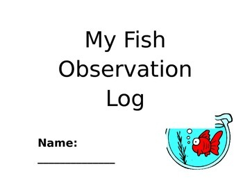 Fish Observation Journal