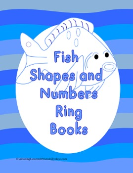 Fish Shapes and Numbers Ring Books (Common Core)