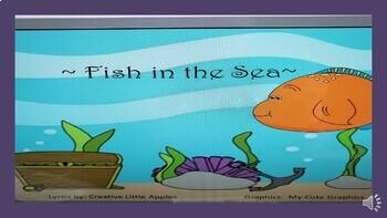 PreK and Kindergarten: Fish Song