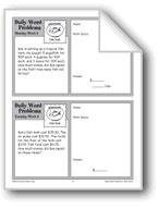 Fish Tank (Grade 4 Daily Word Problems-Week 9)