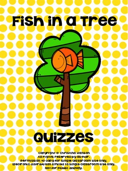 Fish in a Tree Quizzes