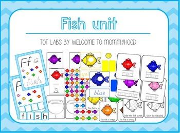 Fish unit printables set