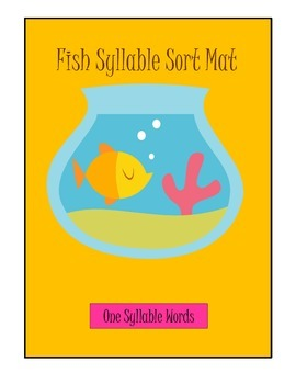 Fish One, Two, Three and Four Syllable Sort game learning
