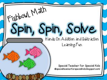 Fishbowl Math- Spin, Spin, Solve {CCSS Instant Math Center}