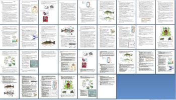 Fishes and Amphibians Notes Outline Lesson Plan