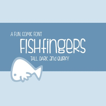 Fishfingers Font for Commercial Use