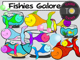 Fishies Clipart {TeacherToTeacher Clipart} fish clipart
