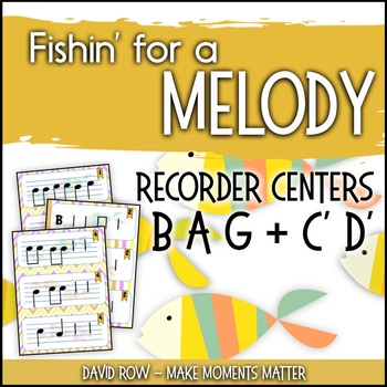 Fishin' For a Melody with high C' and high D'!  Recorder I