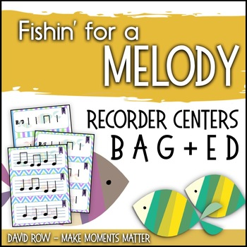Fishin' For a Melody with low E low D! Recorder Improvisat