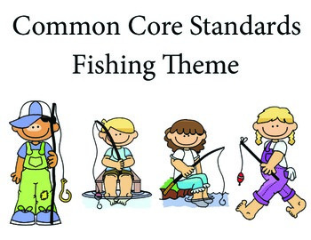 Fishing 2nd grade English Common core standards posters