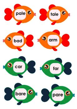 Fishing - Aa vowel
