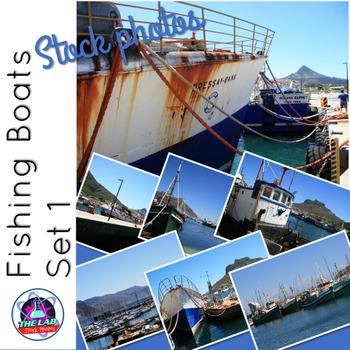 Fishing Boats Stock Photos (Set 1)