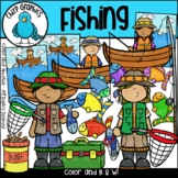 Goin' Fishing Clip Art Set - Chirp Graphics