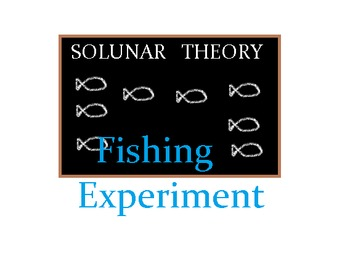 Fishing Experiment Solunar Theory