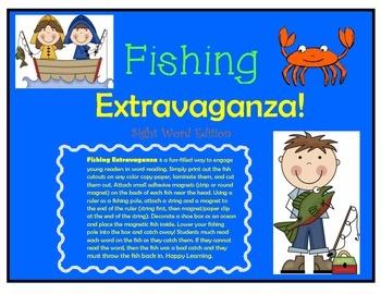 Fishing Extravaganza: Sight Word Edition