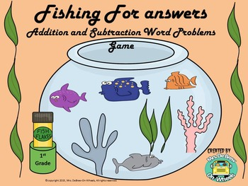 Game:  Addition and Subtraction Word Problems