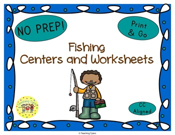 Fishing Worksheets Activities Games Printables and More