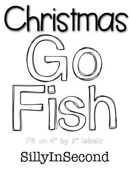 Fishing for Christmas Words