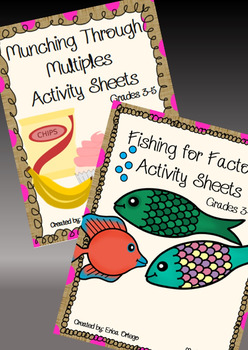 Fishing for Factors and Munching Through Multiples Activit