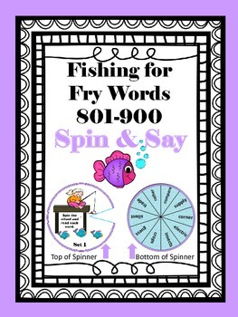Fishing for Fry Words 801-900